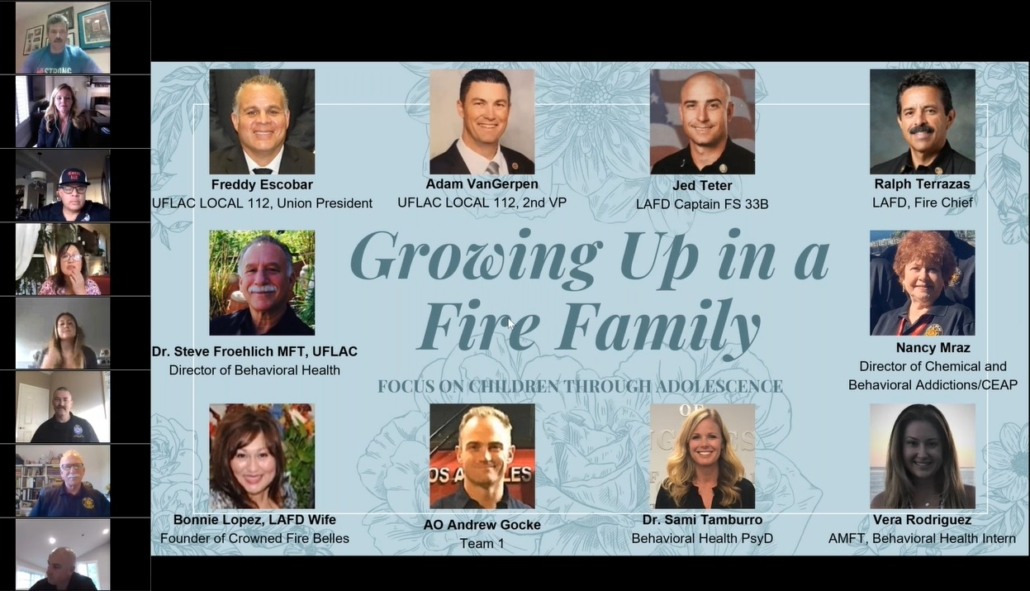 Growing Up in a Fire Family
