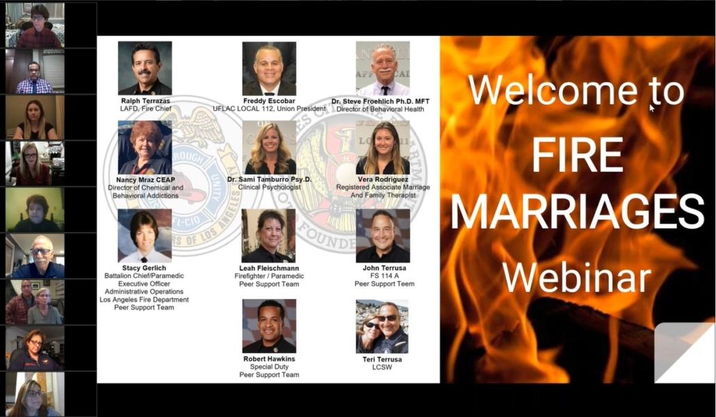 Fire Marriages Webinar